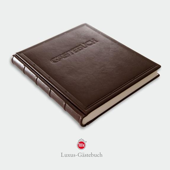 Gästebuch Ausgabe No. 01 (Goldschnitt mit Schnitt-Schmuckziselierung)