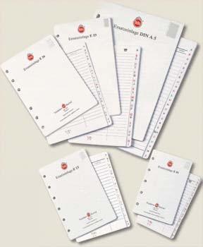 Ersatz-Notizpapier alle Ringbücher